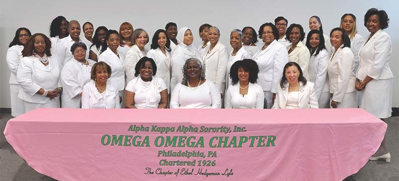 2018 Omega Omega Chapter Officers