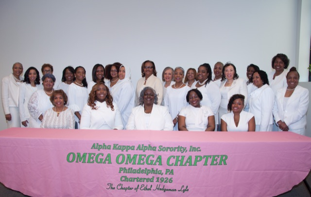 Photograph of 2019 Omega Omega Chapter Officers